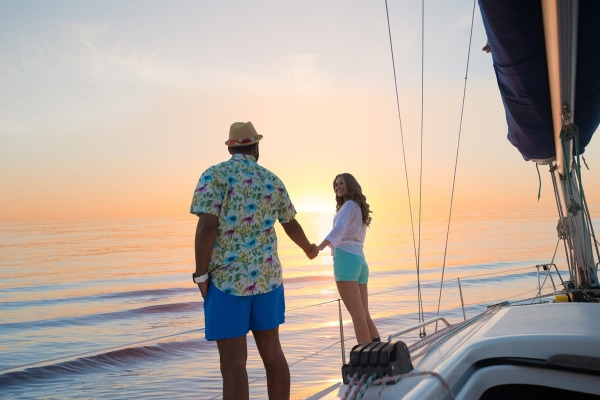 Sunset in Riviera Maya 4-Hours Private Catamaran